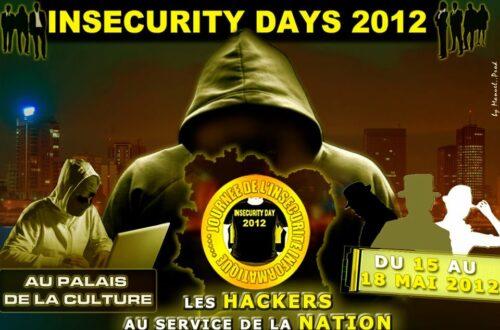 Article : Abidjan : Insecurity Days 2012, des hackers au service de la nation