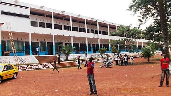 Lycée Barthélemy Boganda de Bangui © lanouvellecentrafrique.info
